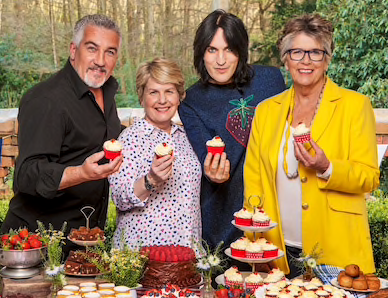 Why we love the Great British Bake off….